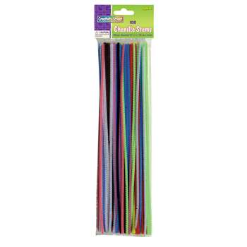 Chenille Stems Assorted 12 Stems By Chenille Kraft