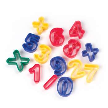 Dough Cutters Numbers By Chenille Kraft