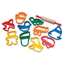 Jumbo Clay Cutter Set By Chenille Kraft