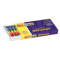 Oil Pastels Regular 12-Pk By Chenille Kraft