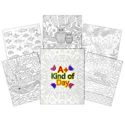 2 Pocket 6Pk Child Designs Paper Ucolor Folders, CLI15207