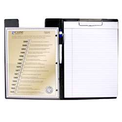 C Line Clipboard Folder Black By C-Line