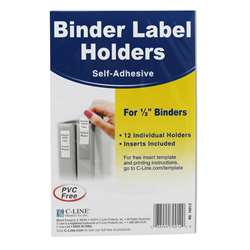 "Binder Labels 1/2X1 5/8"" Self Adhesive For 1/2"" , CLI70012"