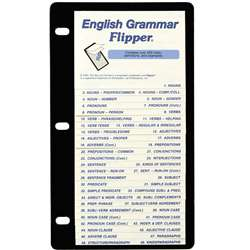 English Grammar Flip Up Study Guide By Christopher Lee