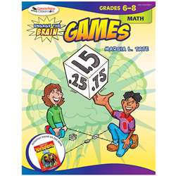 Engage The Brain Games Math Gr 6-8 By Corwin