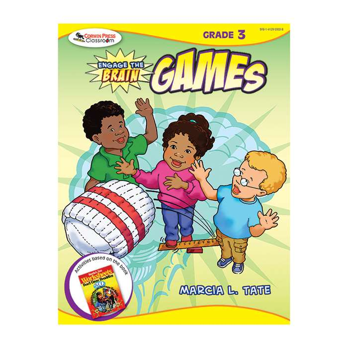Engage The Brain Games Gr 3 By Corwin