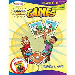 Engage The Brain Games Social Studies Gr 6-8 By Corwin