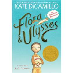 Flora And Ulysses Paperback Book The Illuminated A, CP-9780763687649