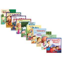 Way To Be Manners Book Set Of 10 By Coughlan Publishing Capstone Publishing