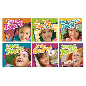 Healthy Teeth Book Set Of 6, CPB9781429620925