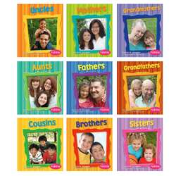 Families Books Set Of All 10 By Coughlan Publishing Capstone Publishing