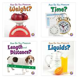 Measure It Book Set Set Of 4 By Coughlan Publishing Capstone Publishing