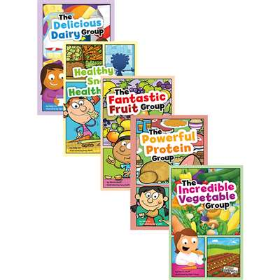 Myplate And Healthy Eating Book Set Of 6 By Coughlan Publishing Capstone Publishing