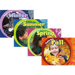 Exploring The Seasons Book Set Of All 4 By Coughlan Publishing Capstone Publishing