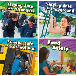 Staying Safe Book Set Set Of 6 By Coughlan Publishing Capstone Publishing