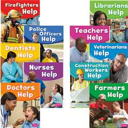 Our Community Helpers Set Of All 10 Titles, CPB9781476570723