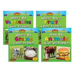 4 Bk Set Farm To Fork Where Does My Food Come From, CPB9781484633748