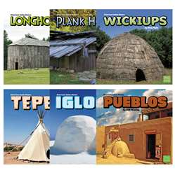 American Indian Homes 6 Book Set, CPB9781491425015
