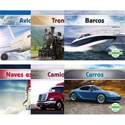 Abdo Transportation Spanish Reader Dual Language, CPB9781496604972