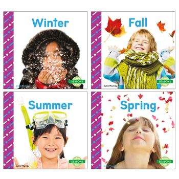 Seasons Book Set Set Of 4, CPB9781496611642