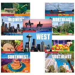 5 Book Set United States By Region, CPB9781515724667