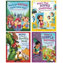 Stem Twisted Fairy Tales Set Of 4 Books, CPB9781515829157