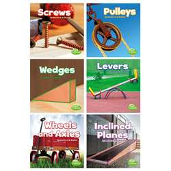 Simple Machines Books Set Of 6, CPB9781543500974