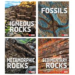 Rocks Book Set Set Of 4, CPB9781543527322