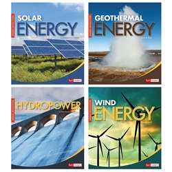 Energy Revolution Set Of 4 Books, CPB9781543559804