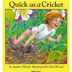 Quick As A Cricket Softcover By Childs Play Books