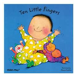 Shop Ten Little Fingers Board Book - Cpy9780859536103 By Childs Play Books