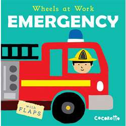 Wheels At Work Board Book Emergency, CPY9781786280800