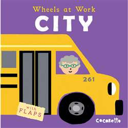 Wheels At Work Board Books City, CPY9781786280817