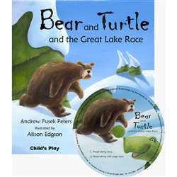Bear And Turtle And The Great Lake Race Traditional Tale With A Twist By Childs Play Books