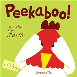 Peekaboo Board Books On The Farm, CPY9781846438646