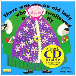Old Lady Who Swawllowed A Fly & Cd By Childs Play Books