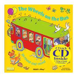The Wheels On The Bus 8X8 Book With Cd By Childs Play Books