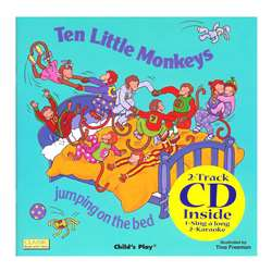 Ten Little Monkeys 8X8 Book With Cd By Childs Play Books