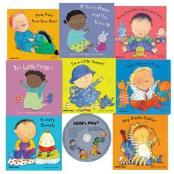 Nursery Rhyme Board 8 Bk Set with Cd, CPYCPBB
