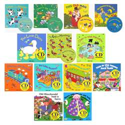 Songs And Rhymes Collection Set 1 - 13 8X8 Books W, CPYSTPLCBWH13
