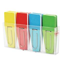 Solid Clip Flags 24Pk Red Blue Yellow Green, CRT127