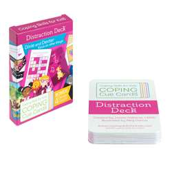 Coping Cue Cards Distraction Deck, CSKCCDST