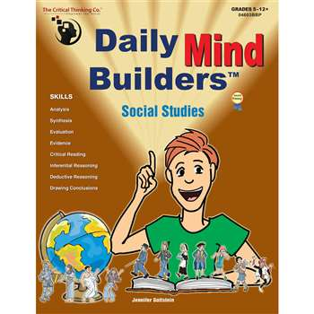 Daily Mind Builders Social Studies Gr 5-12 By Critical Thinking Press