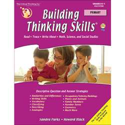 Building Thinking Skills Primary By Critical Thinking Press