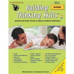 Building Thinking Skills Beginning By Critical Thinking Press
