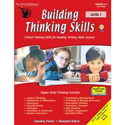Building Thinking Skills Level 1 By Critical Thinking Press