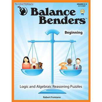 Balance Benders Gr 2-6 By Critical Thinking Press