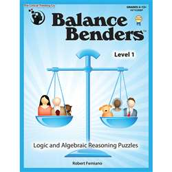 Balance Benders Gr 4-12 By Critical Thinking Press
