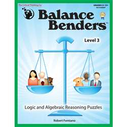 Balance Benders Gr 8-12 By Critical Thinking Press