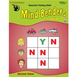 Mind Benders Beginning Book 2 Gr 1-2 By Critical Thinking Press